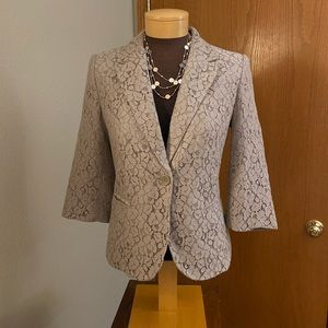 The Limited lace blazer